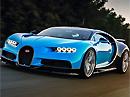 Bugatti Chiron - Nejrychlejší sériové auto světa jede 420km/h!