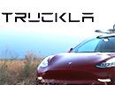 TESLA nenabízí pickup? Není problém. Postavte si Truckla!