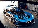 Bugatti Bolide – superauto. Z 0 na 500km/h za 20s!
