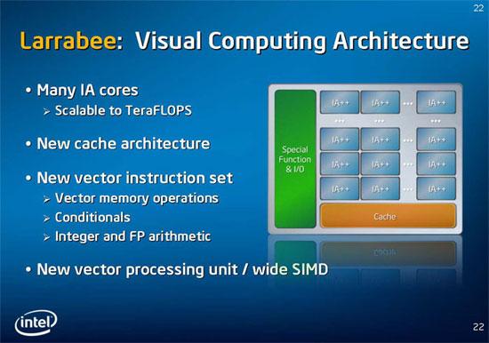 Intel Larrabee je 5x výkonnější než NVIDIA GTX 280?!